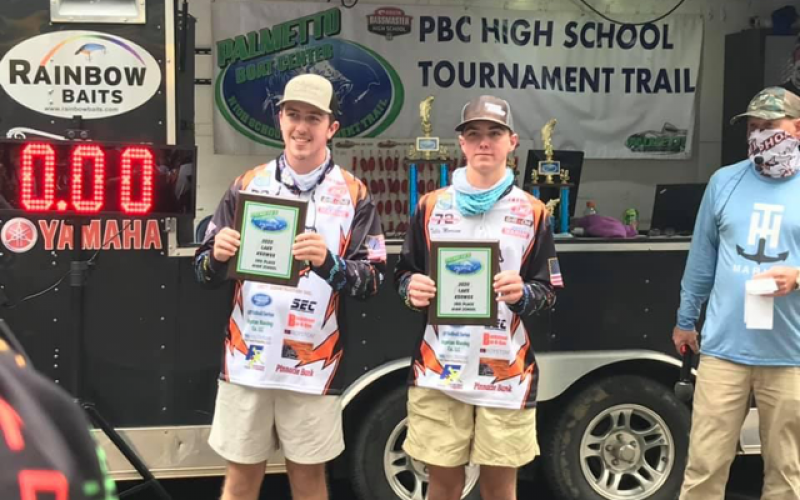 Tallis Morrison and Max Heaton captured third place with 11.37 lbs.
