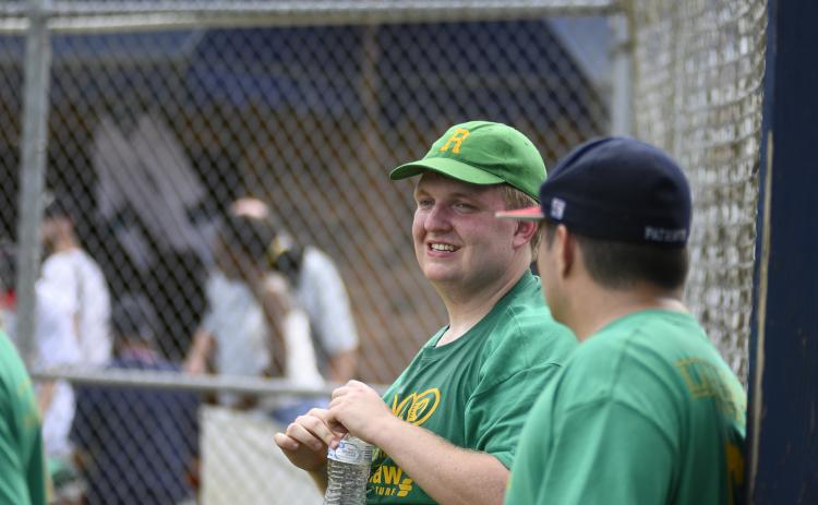 Taylor Duncan is pictured at an Alternative Baseball event. He is hoping to start a league in Hart County.
